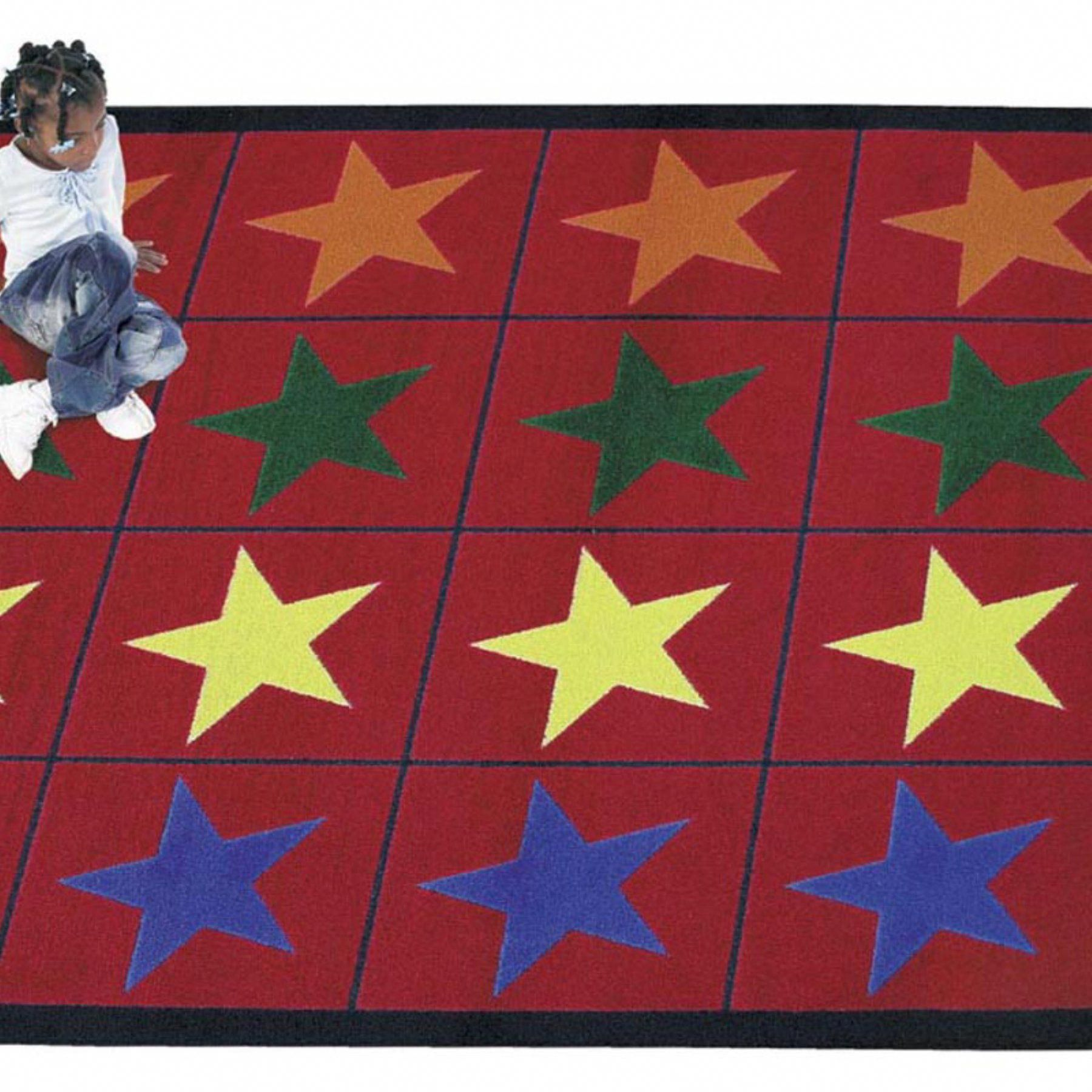 Joy Carpets Star Space Area Rug