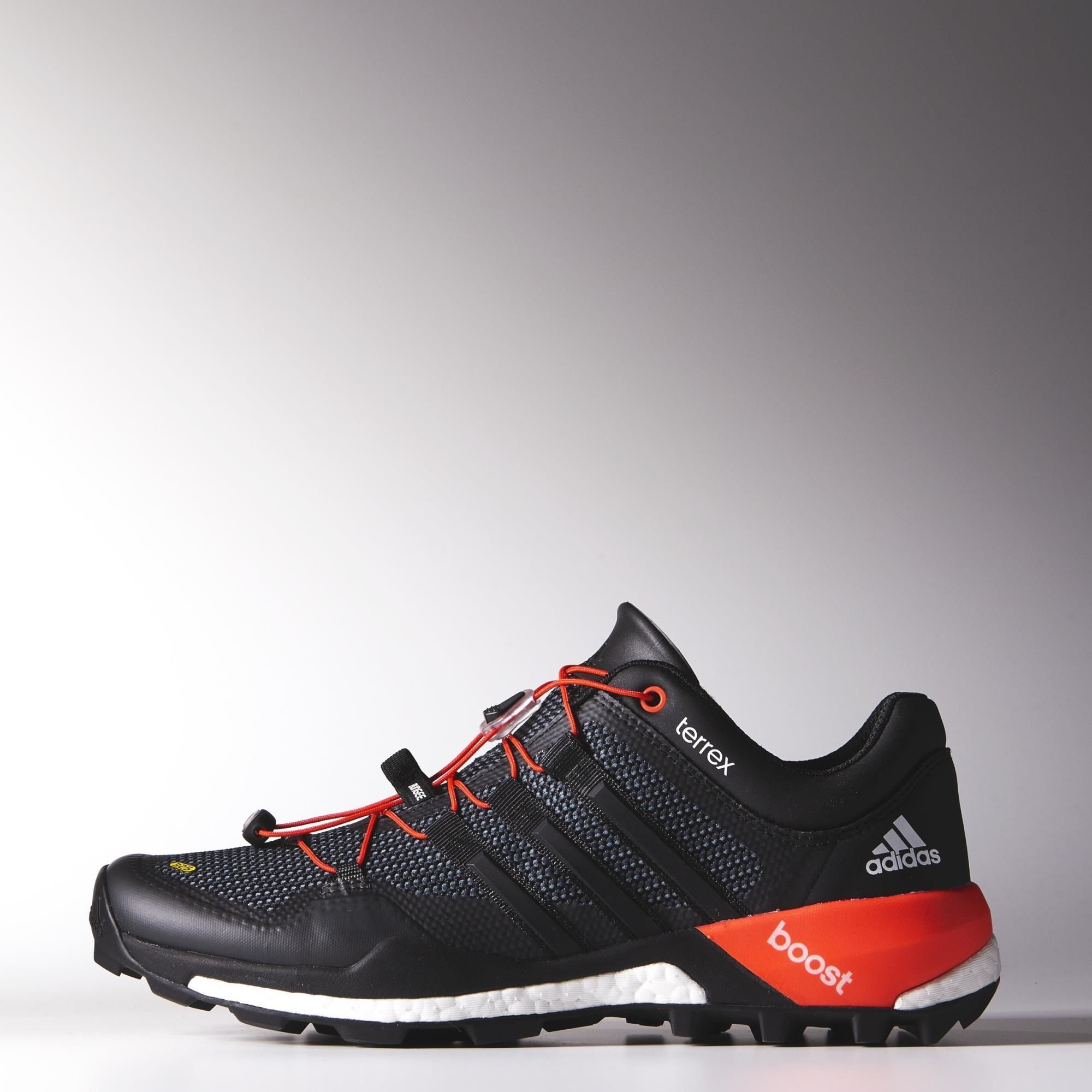adidas Terrex Boost Shoes — Soles made by Continental Tyres.