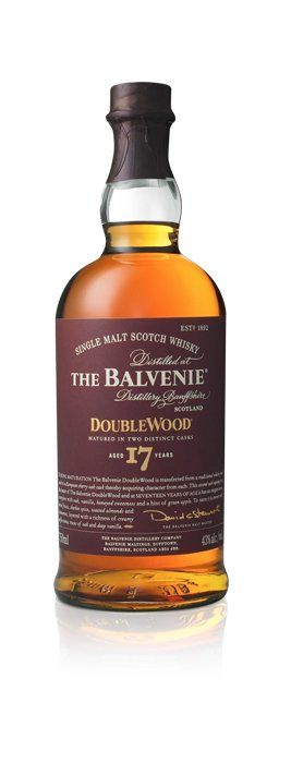 To craft DoubleWood 17 Year Old Malt Master returned to one of his most celebrated achievements 'cask finishing'. This technique is at the heart of The Balvenie DoubleWood.  The DoubleWood 17 Year Old is an elder sibling to DoubleWood 12 Year Old and shares its honeyed, spicy characteristics, but it is distinctly different, with deeper vanilla notes, hints of green apple, creamy toffee and a striking richness and complexity.