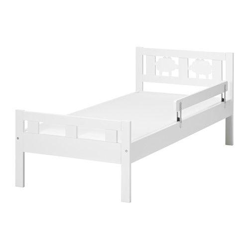 Kritter Ram Postele S Rostem Bila 70x160 Cm Ikea Ikea Bed Ikea Toddler Bed Bed Frame
