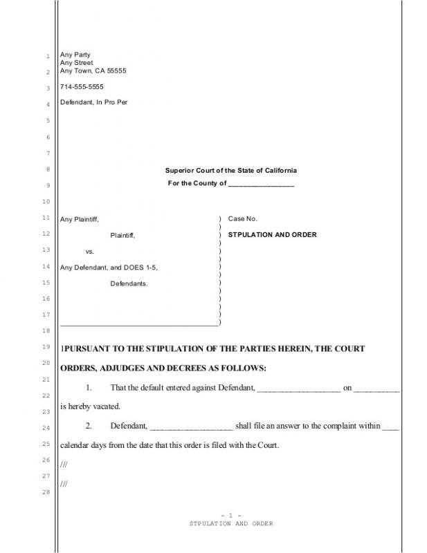 Divorce Agreement Sample Template Divorce Agreement