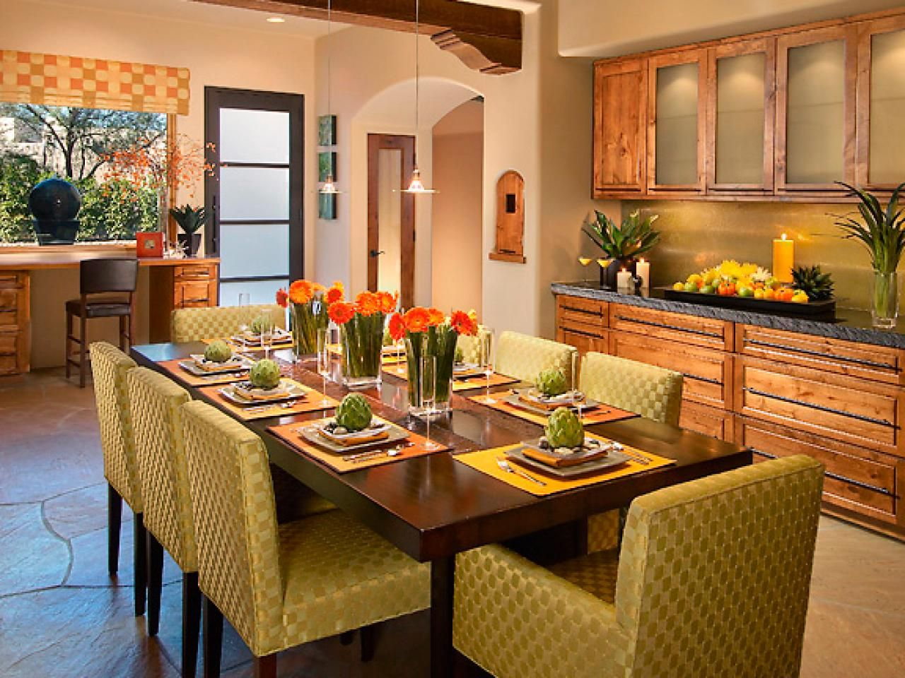 Familystyle Kitchens  Kitchen Pictures Remodeled Kitchens And Hgtv Fair Islands Dining Room 2018