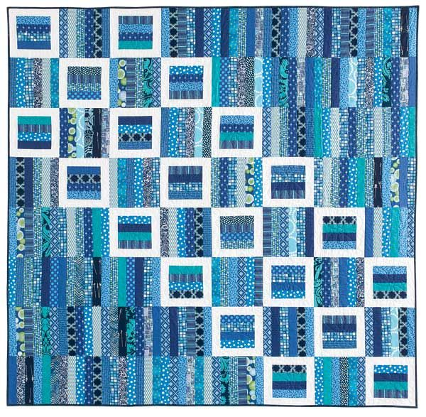Reflecting pools quilt pattern by bev getschel mccall 39 s for Thread pool design pattern