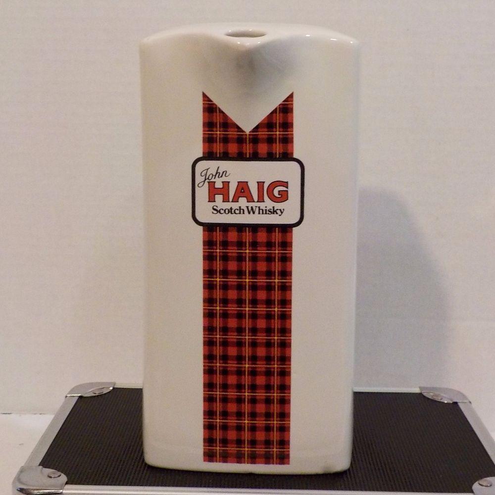 John Haig Scotch Whisky Jug Mug #JohnHaig