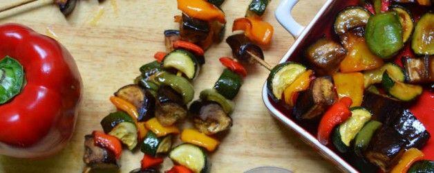 Légumes barbecue - repas