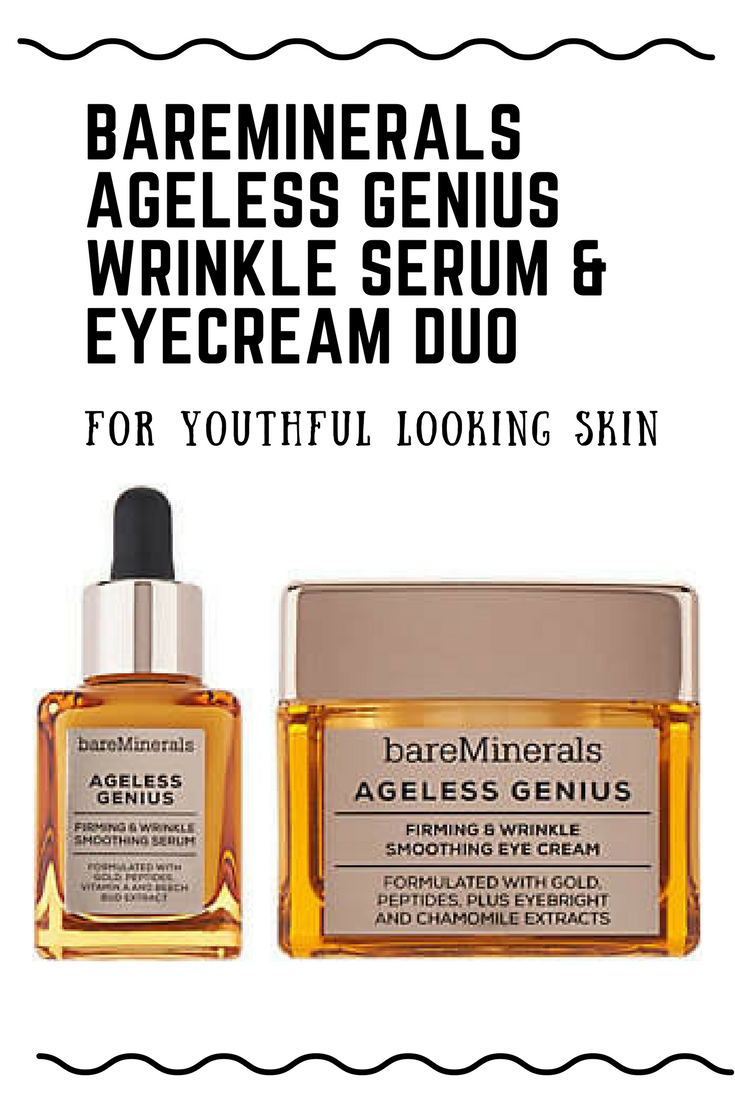 61e313bcd02e Ageless Genius Firming   Wrinkle Smoothing Serum and Smoothing Eye Cream  addresses the appearance of the signs of aging and leaves you with the  feeling of ...