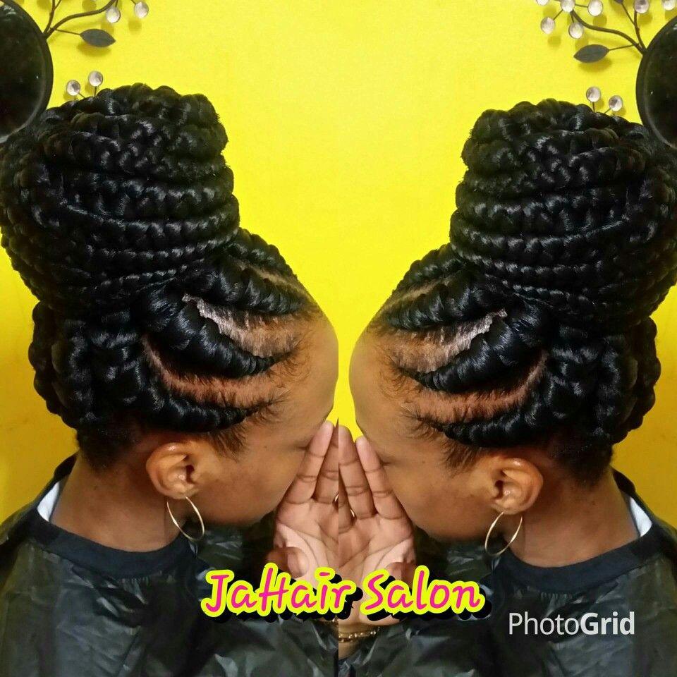 Stunningly cute ghana braids styles for ghana braids african