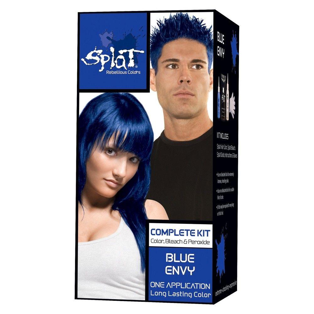 Splat Hair Color Bleach Kit Lightening Bleach 1 Kit Dyed Hair Blue Splat Hair Dye Hair Color