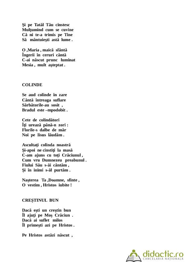 Poezii si scenete de Craciun | mihaela_educ | 05.12.2012