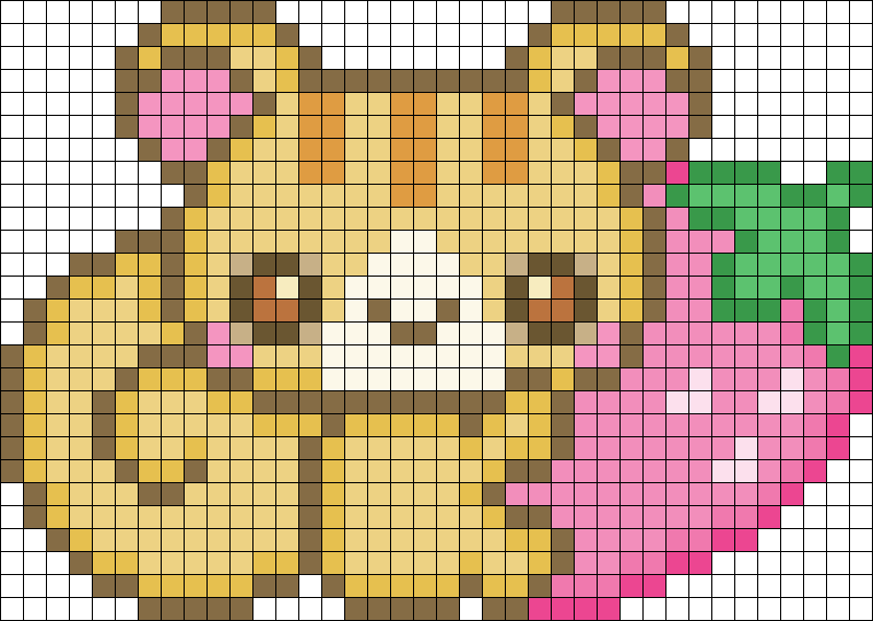 cute animal pixel art templates google search c pinterest