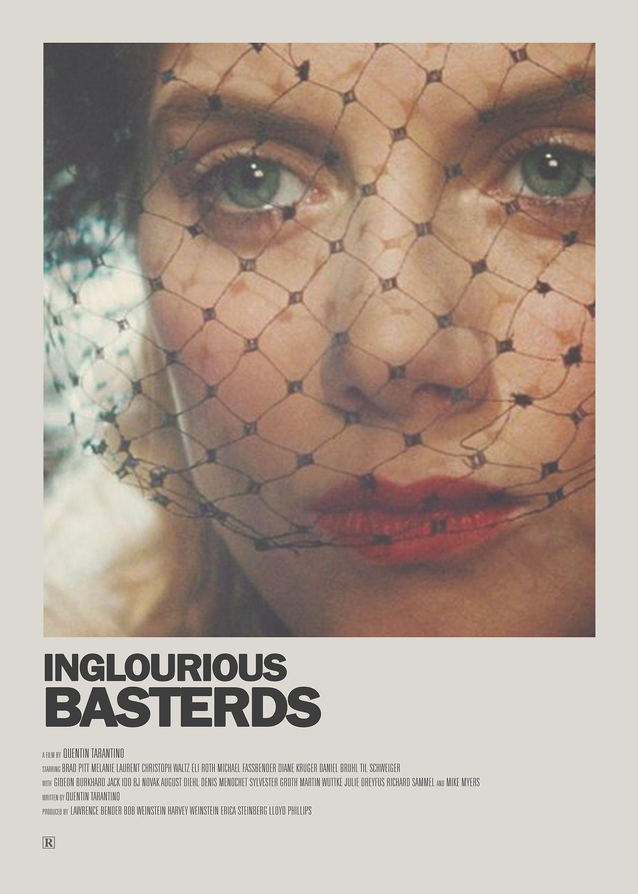 Inglourious Basterds / SHOSANNA / Minimal Movie Poster #filmposters
