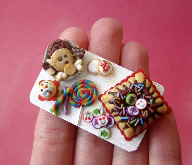 Rainbow Birthday Tray - 2 by PetitPlat.deviantart.com on @deviantART