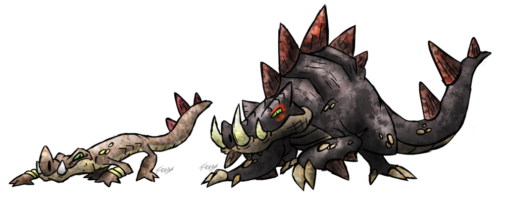 Fusion T-reqs Pokemon By deviantart Art Madness On Boar Pokemon deviantart Fakemon com Creature Croc Concept