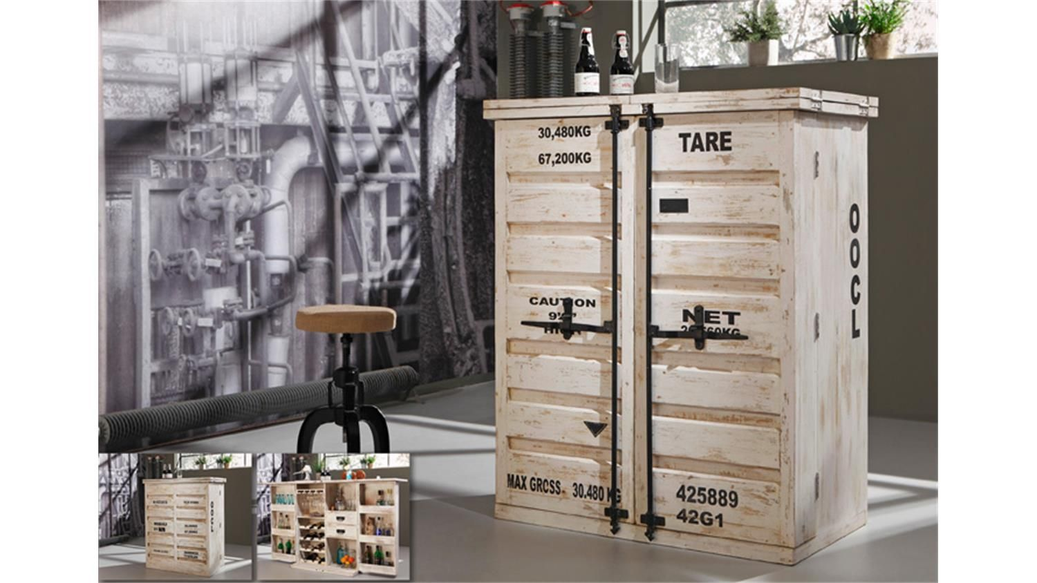 bar 6909 container von wolf m bel in antik weiss wohnzimmer pinterest wohnzimmer und m bel. Black Bedroom Furniture Sets. Home Design Ideas