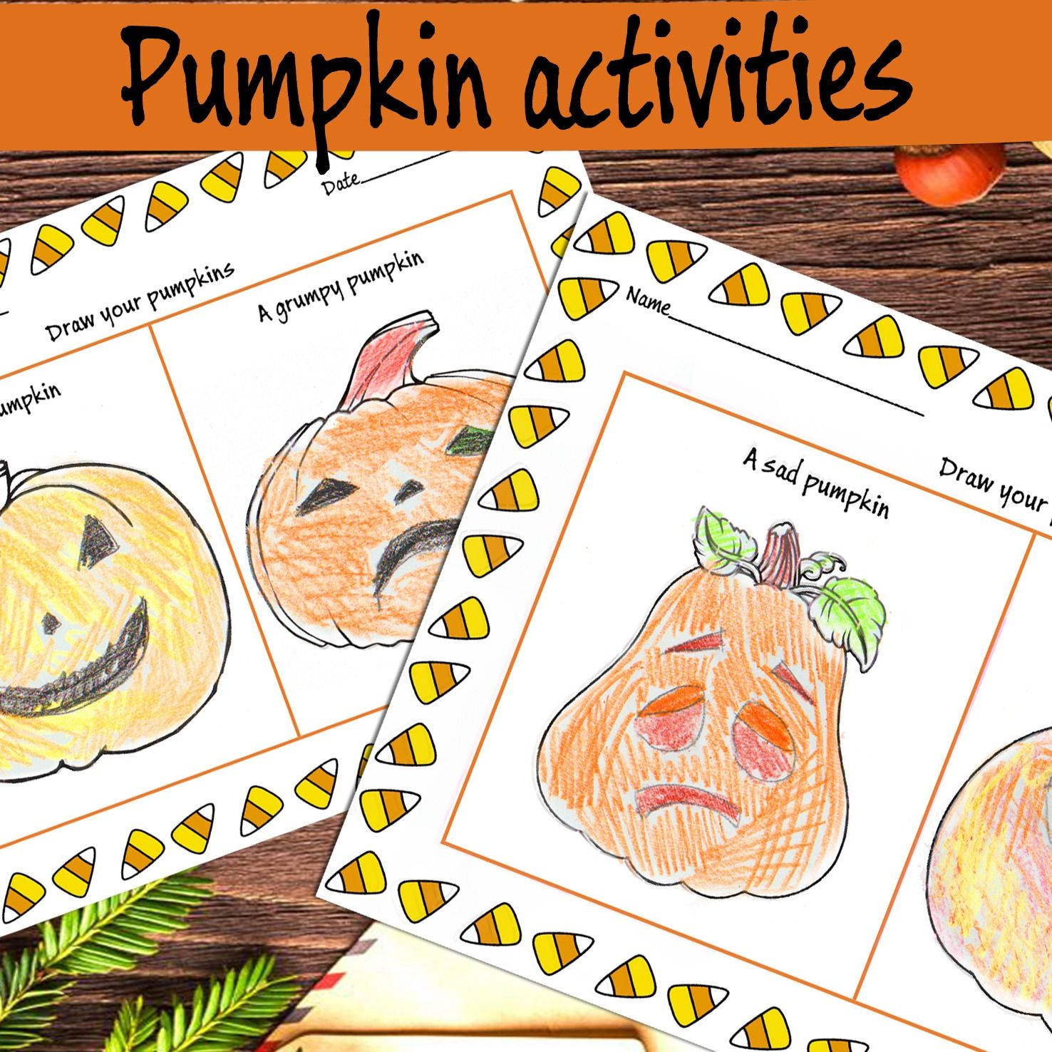 Make A Pumpkin Face