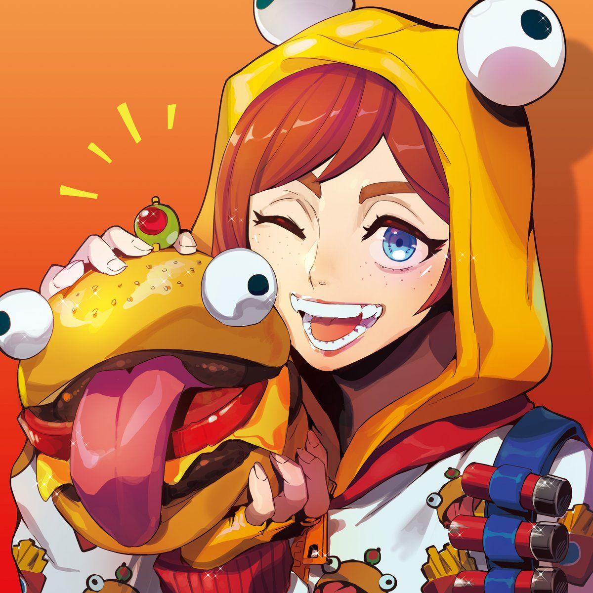 Female Character Fortnite Fan Art Anime - Anime Wallpapers