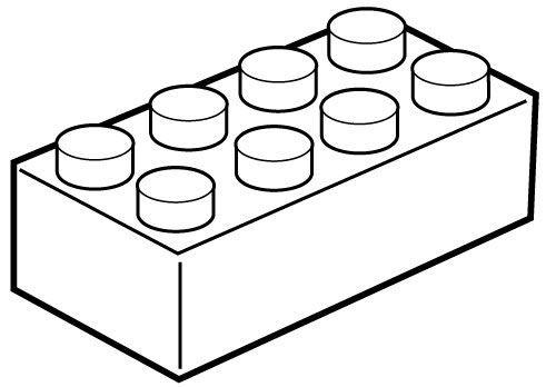 Block Outline Clipart 9 Jpg 491 348 Lego Blocks Printable Lego Blocks Art Block