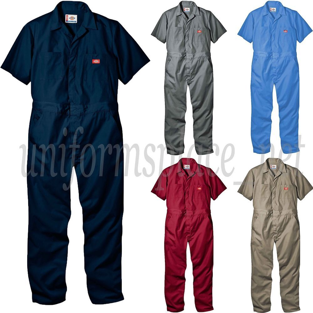 5f4a61b81868 Details about Dickies COVERALLS Mens Short Sleeve Coverall 3399 ...