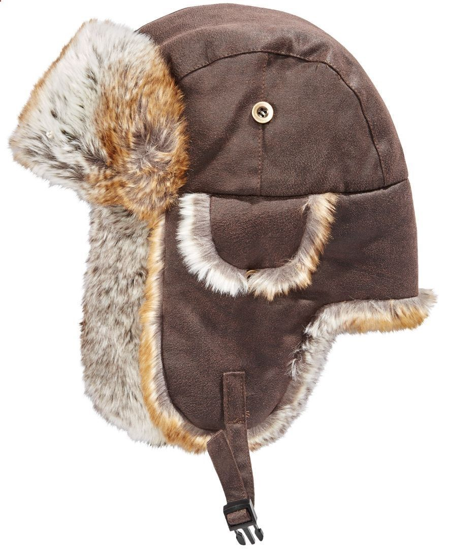 782b35e493fcc Woolrich Mens Weathered Trapper Hat