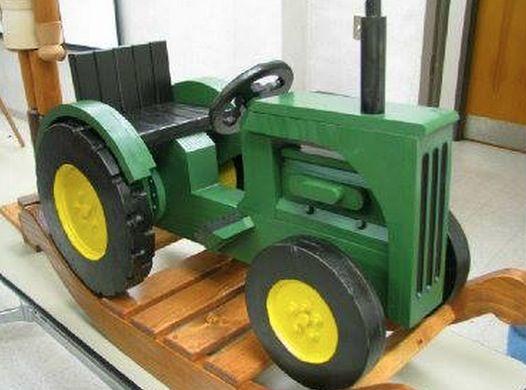 John Deere Rocking Tractor An Easy DIY | סוס עץ | Tractors