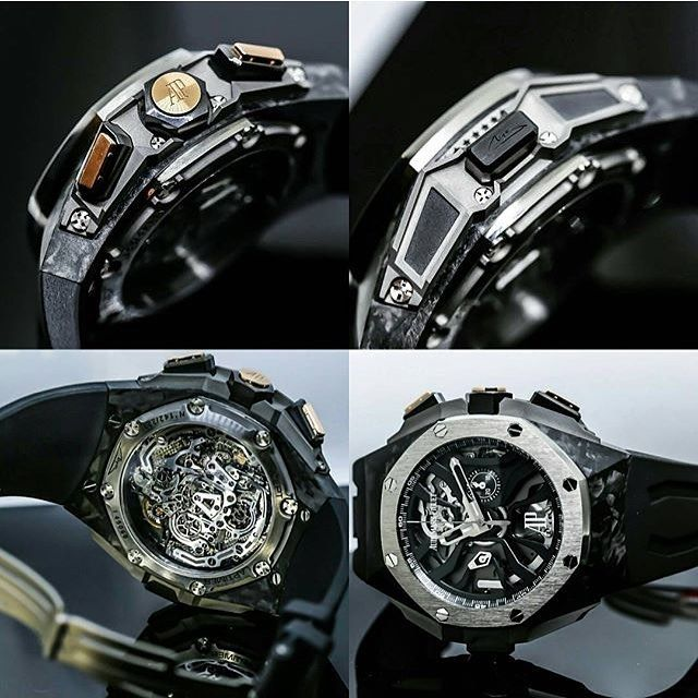Angle Shots Of The Audemars Piguet Royal Oak Concept Laptimer