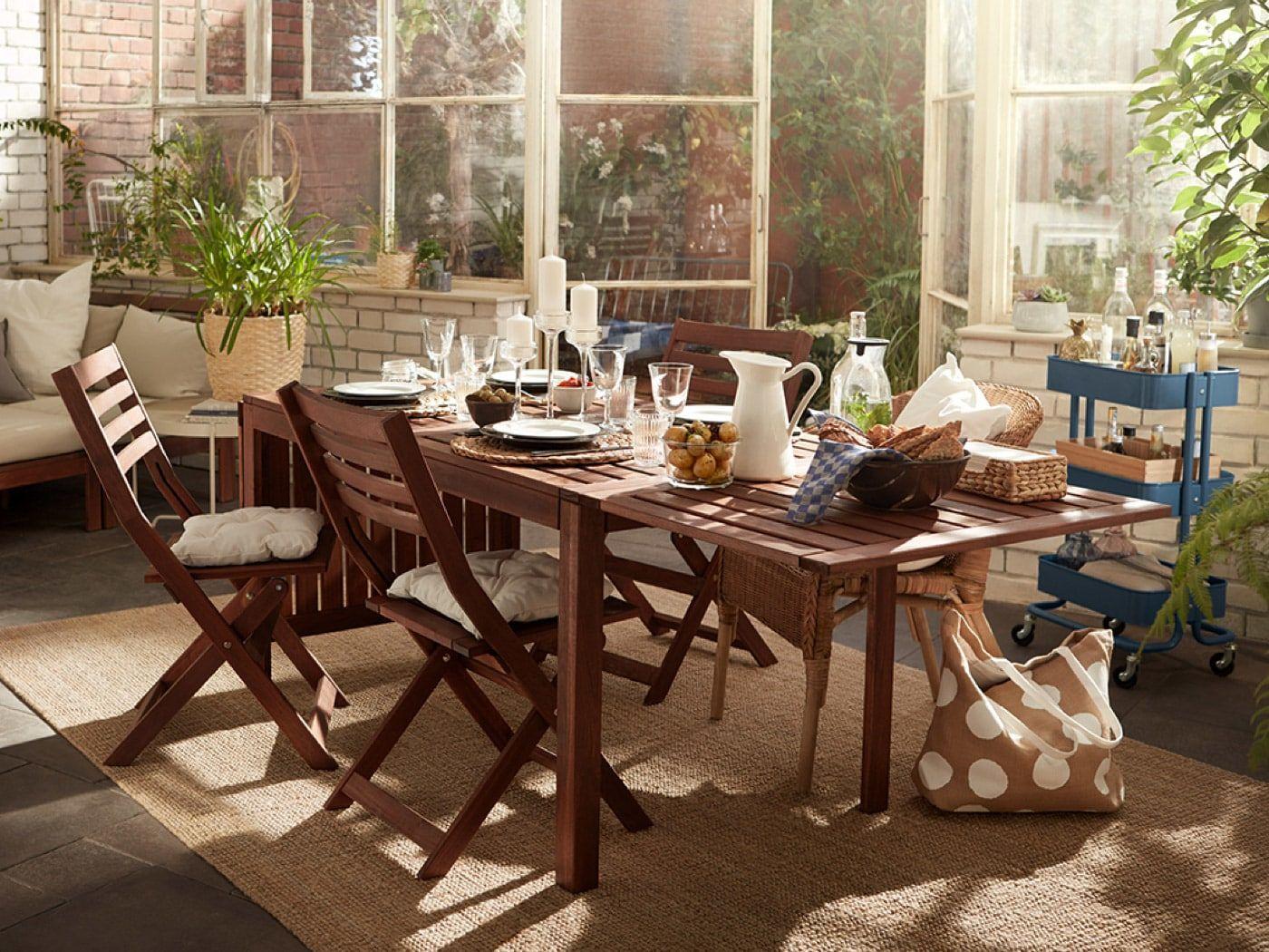Balkonmobel Ikea Holz