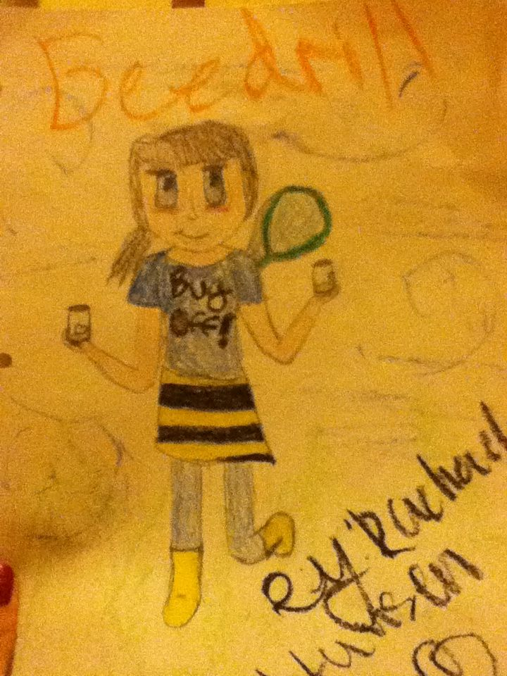 Beedrill as a human 005