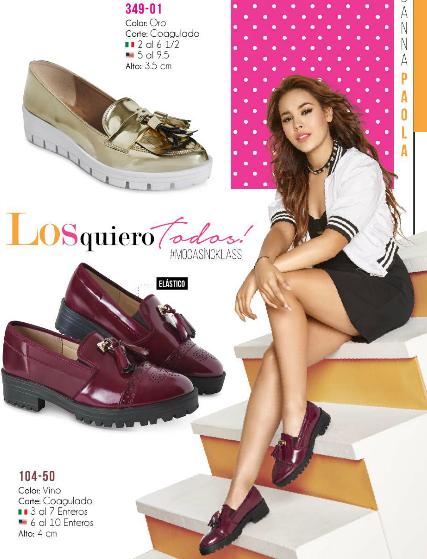 74047b85 Mocasines Cklass Urban. Danna Paola, calzado juvenil de moda, mocasines de  dama,