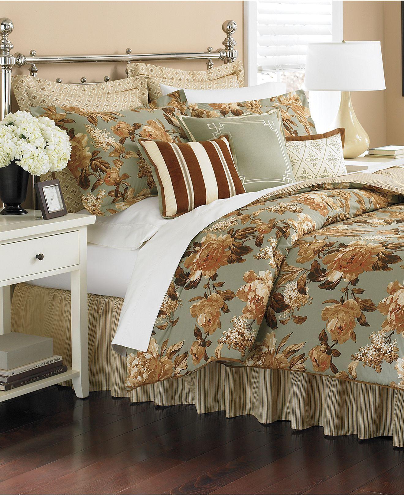 Martha Stewart Bedroom: Martha Stewart Collection Bedding, Regent Garden