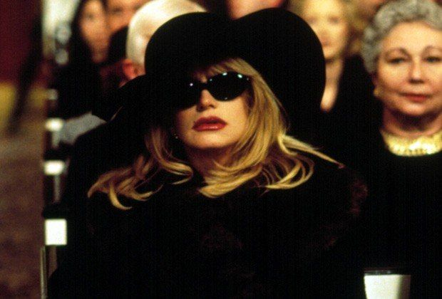 Elise Elliot at Cynthia Swann's funeral, with fresh ...