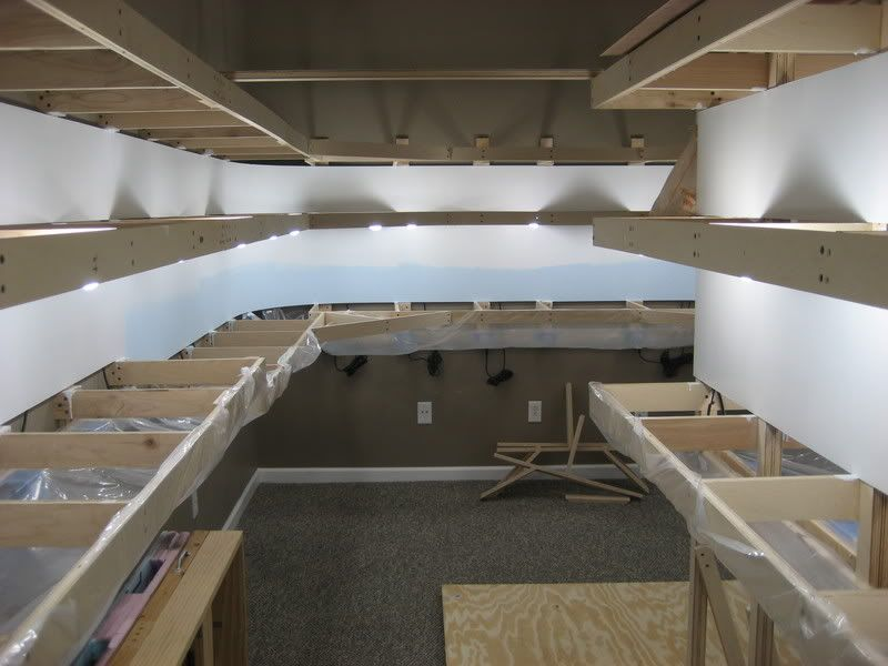 Atlas Model Railroad Co  - double deck layout lighting: pics please