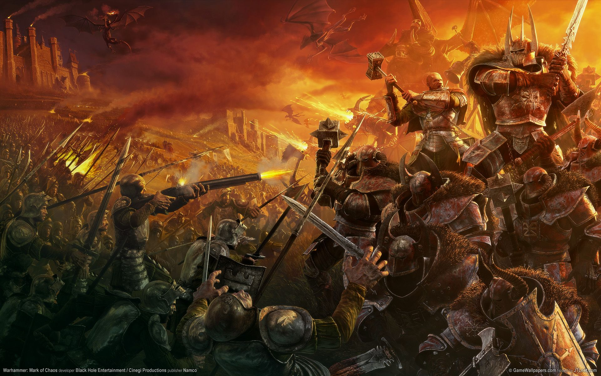 Warhammer Computer Wallpapers Desktop Backgrounds 1920x1200 Id 225411 Fantasy Art Warriors Wallpaper Fantasy Pictures