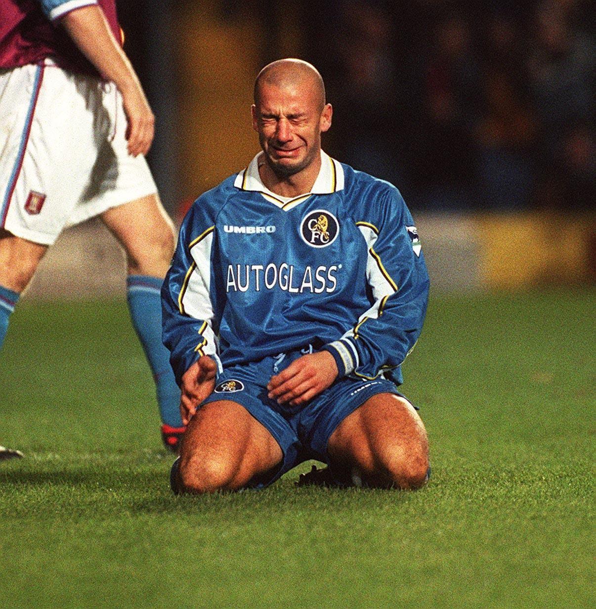 Vialli Gianluca: photo, biography, best football player goals 57
