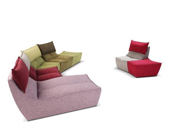 divani - hip hop, segno contemporaneo per calia italia | sofa