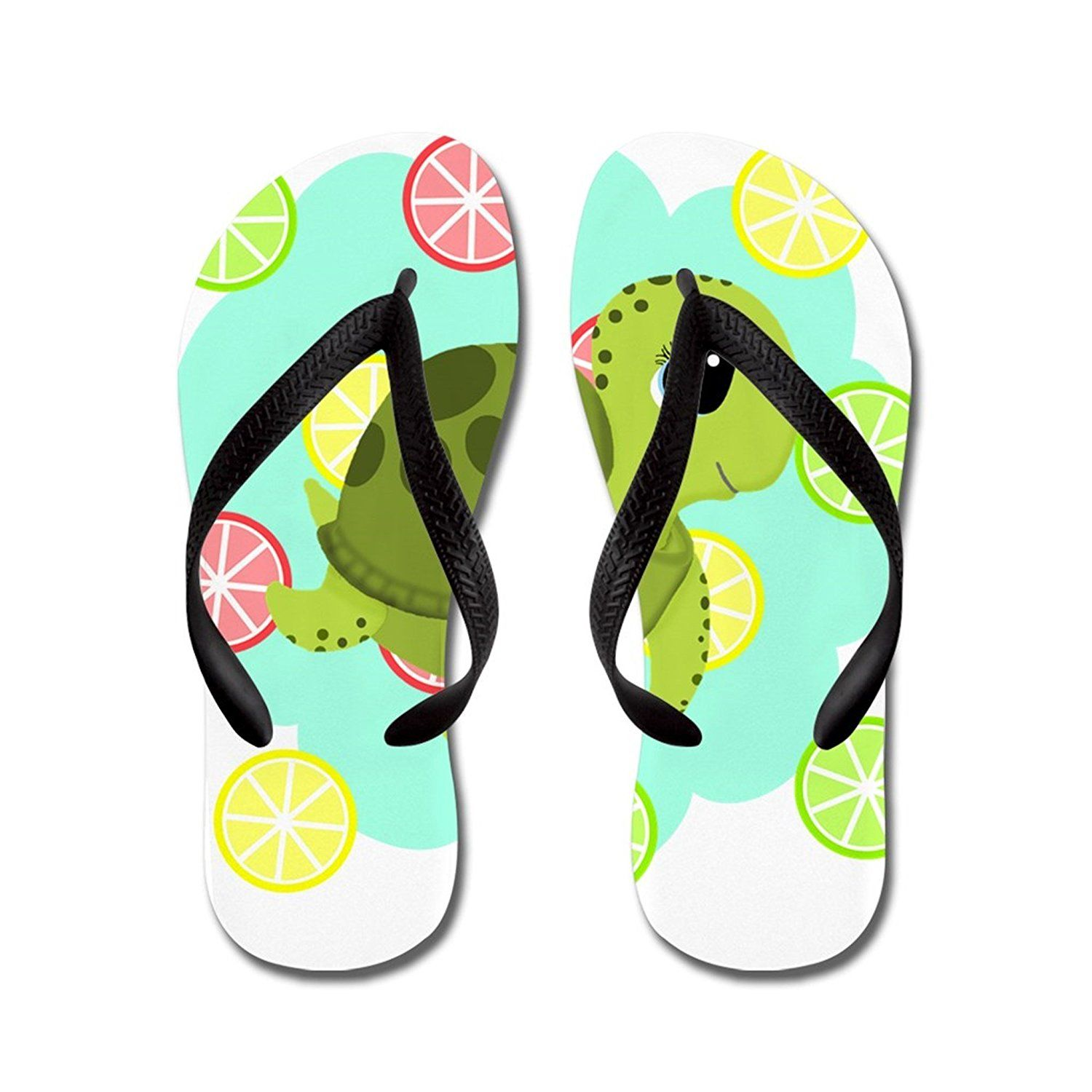 40ed73285f8dd Nyou Summertime Sea Turtle Lightweight Unisex Flip Flops Flat Sandals  Available in Various Colors and Sizes     Visit the image link more details.