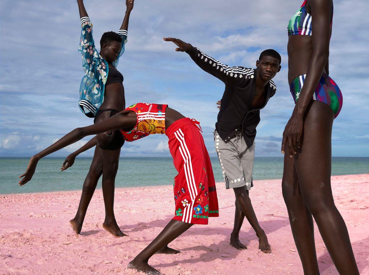 353cde24b142d Pharrell Williams X Adidas Pink Beach Campaign by Viviane Sassen ...