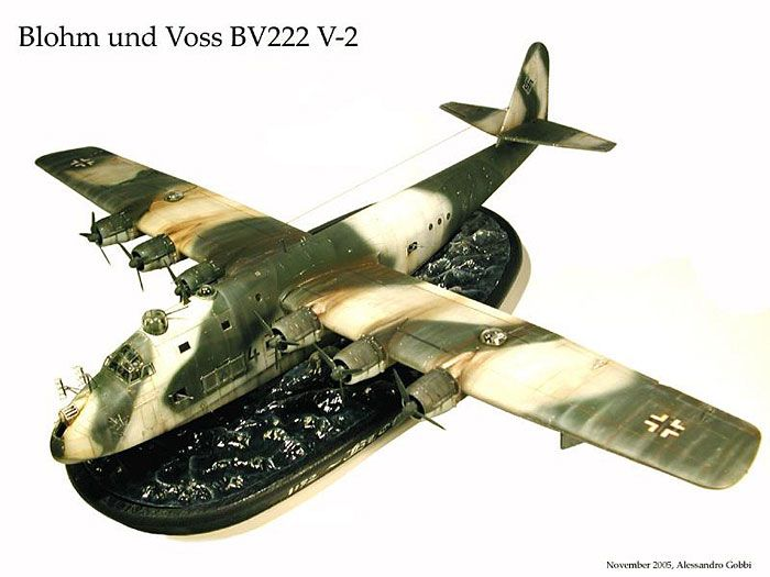 Blohm und Voss Bv 222 V2 by Alessandro Gobbi (Revell 1/72)