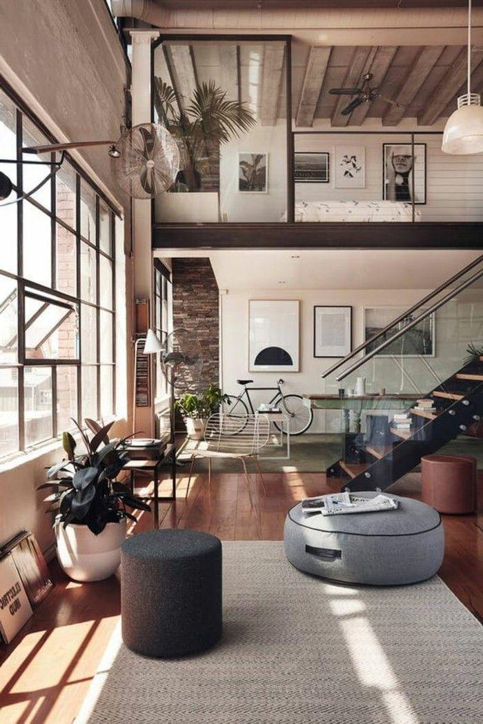 Astus Deco, Tapis Beige Grande Fenetre Dans Le Salon, Escalier D Interieur  Dans Lu0027appartement