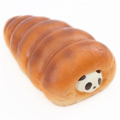 Squishy Bread Jumbo : cute big vanilla panda cornet bread bun scented squishy by Puni Maru 1 Cute Squishes ...