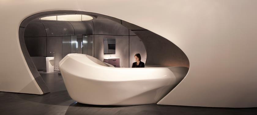 Roca London 3 Interior Design Reception Reception