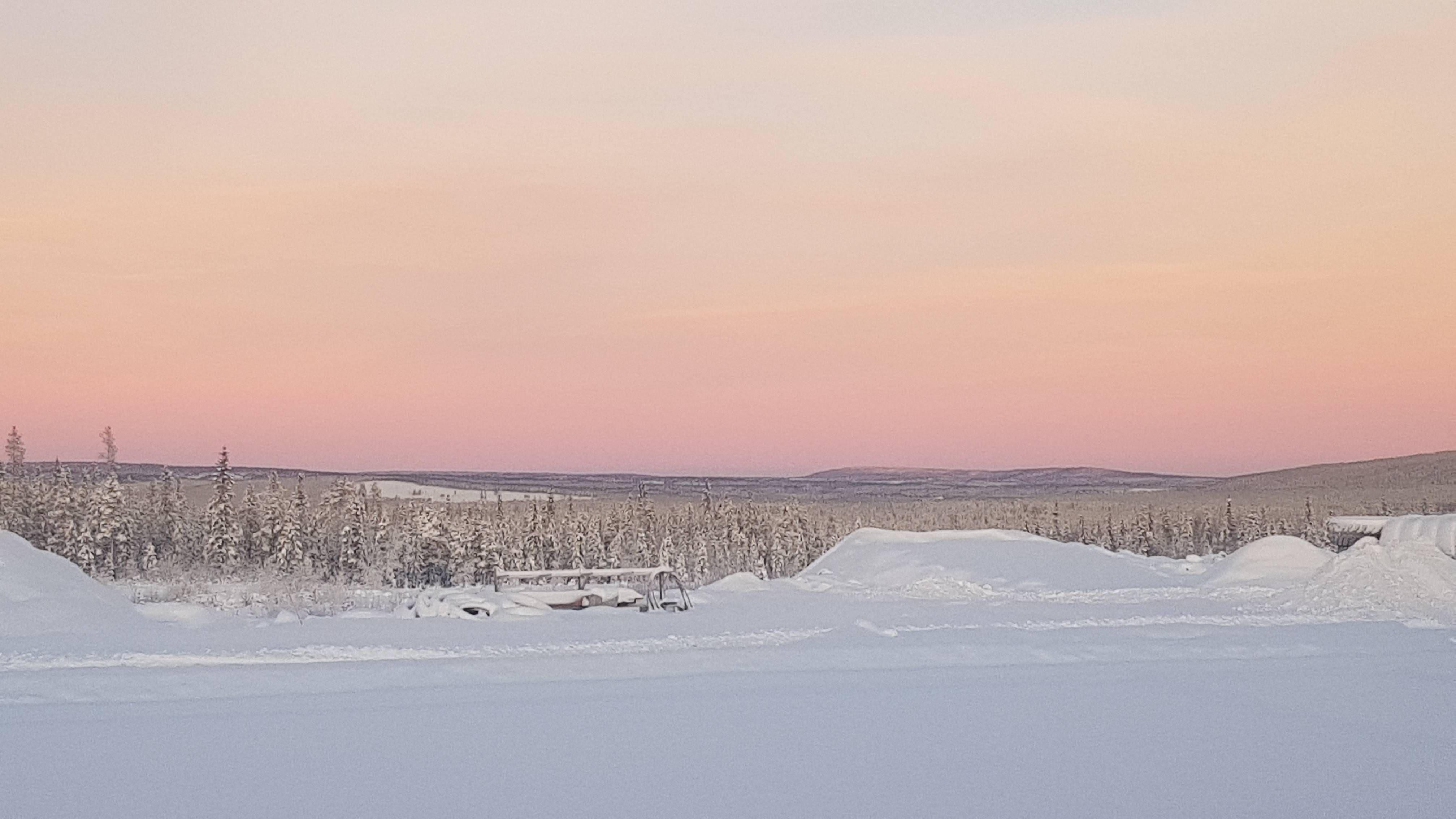 Noon In Subarctic Sweden Dec 12 Sky Nature Natural Landmarks