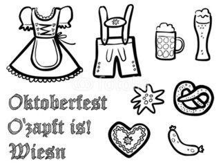 ausmalbilder oktoberfest mit bildern | oktoberfest, schule malvorlagen, ausmalbilder