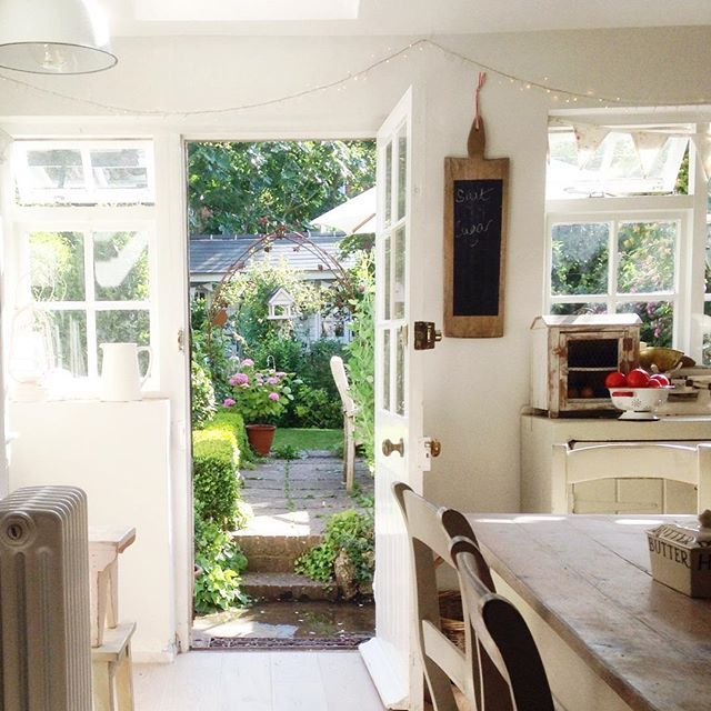 I Like This Kitchen That Steps Immediately Into The Back
