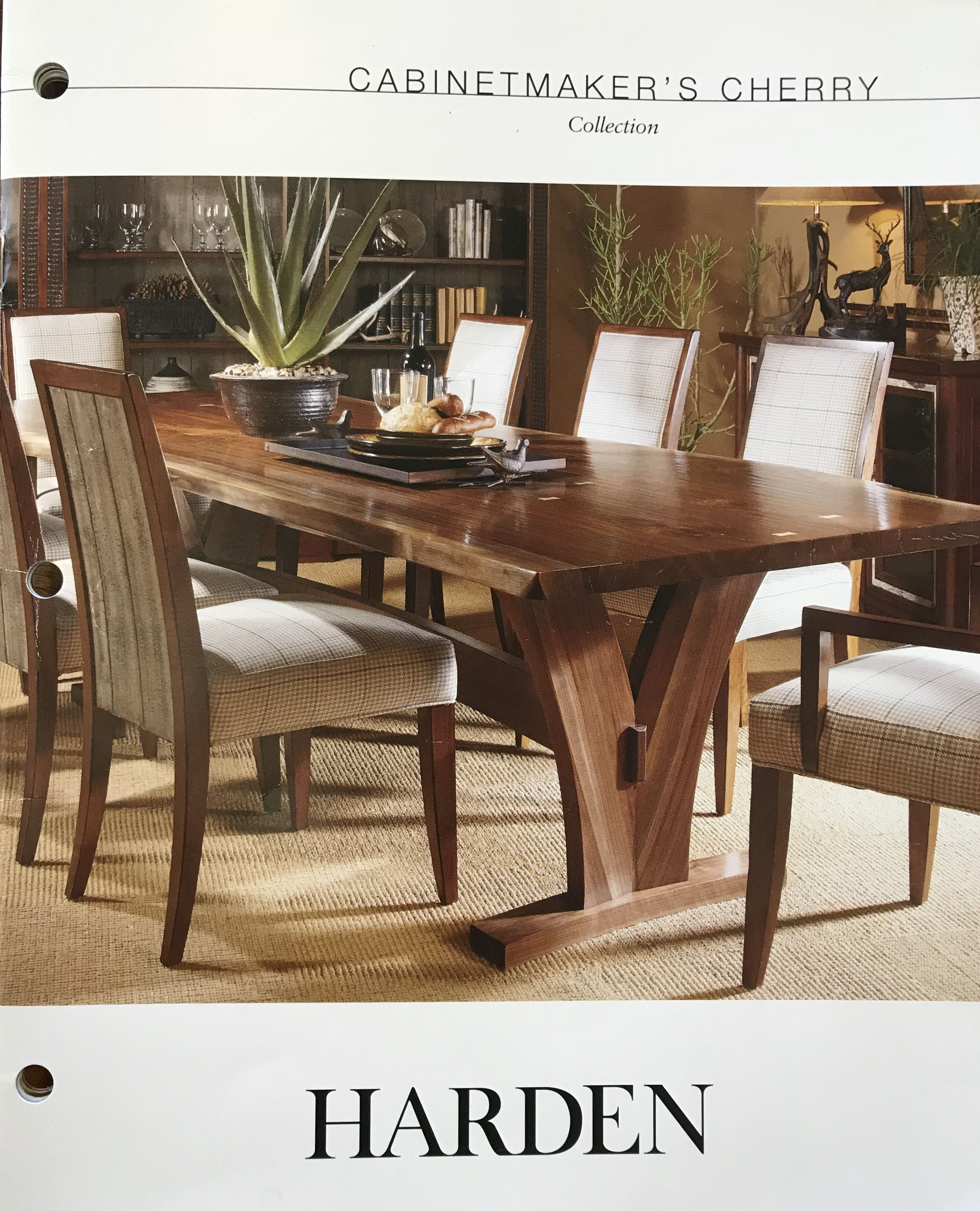Harden Cabinet Makers Cherry Dining Table Room