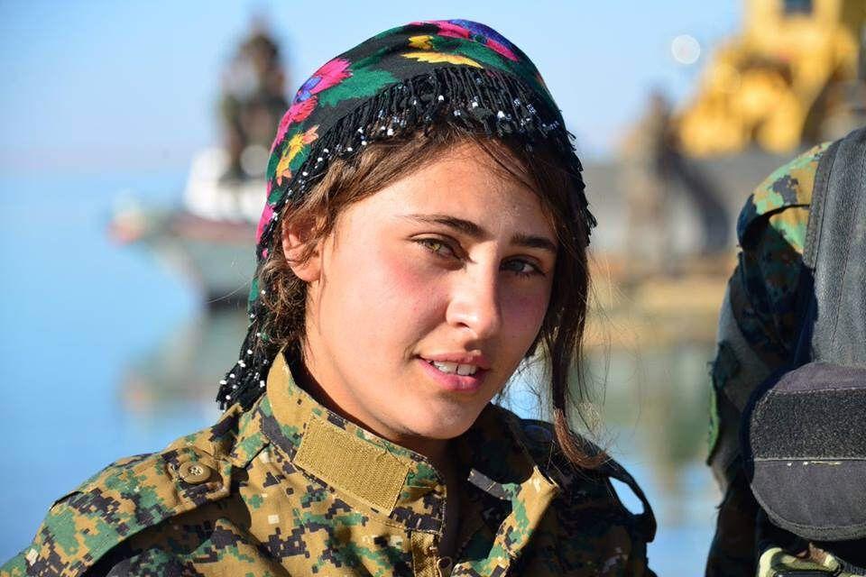 The Kurdish Female Fighters Afrin عفرين Female Fighter Military