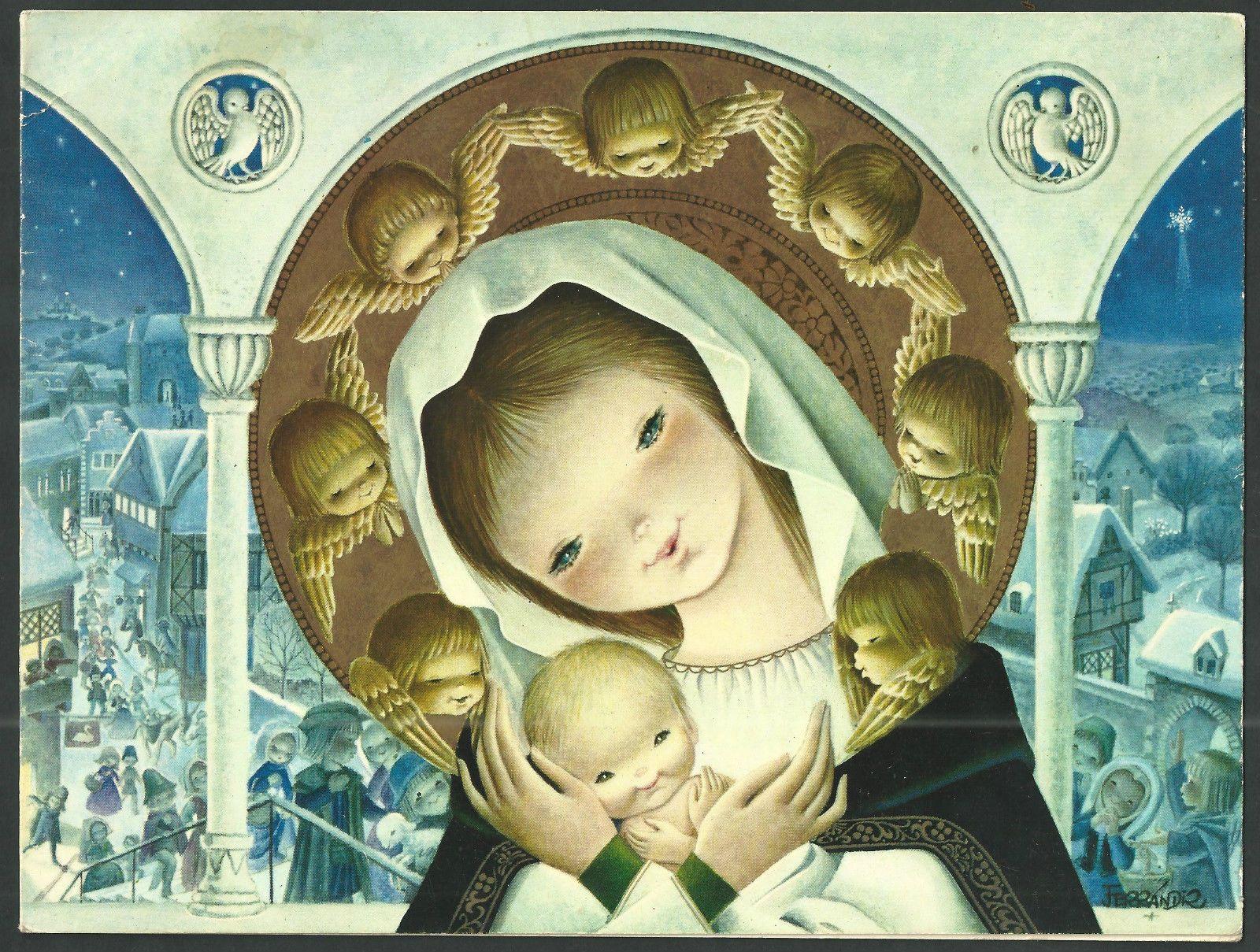 Postal antigua muy grande de ferrandiz andachtsbild santino holy postal antigua muy grande de ferrandiz andachtsbild santino holy card santini ebay kristyandbryce Images