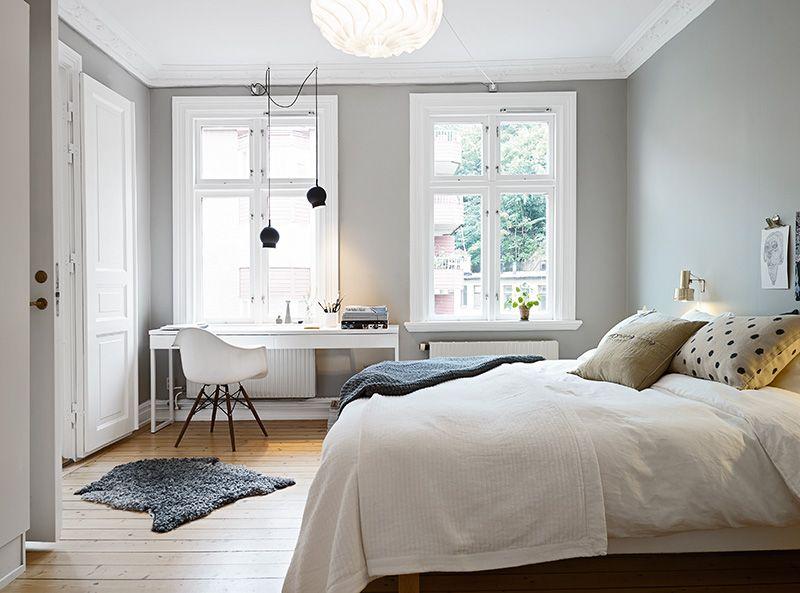 Lovely Apartment In Gotheburg Gray Bedroom Walls Bedroom
