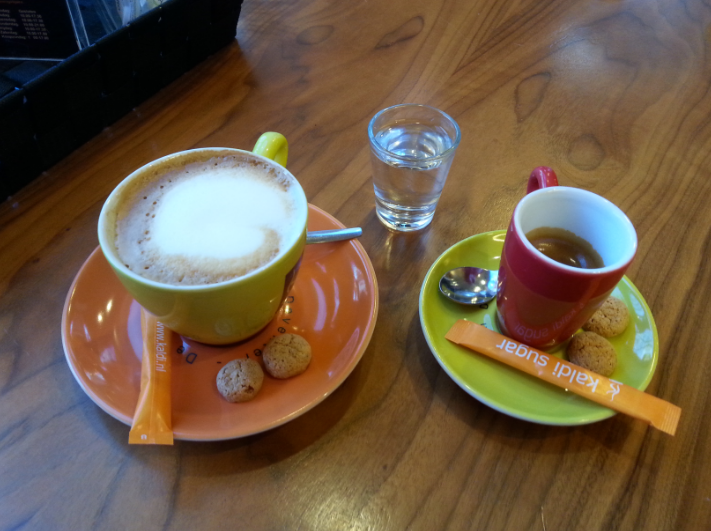 Deventer koffietest bij Kaldi
