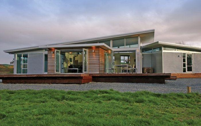 Modernes Haus Mit Pultdach das pultdach eine recht pfiffige dachform für ihr haus pultdach
