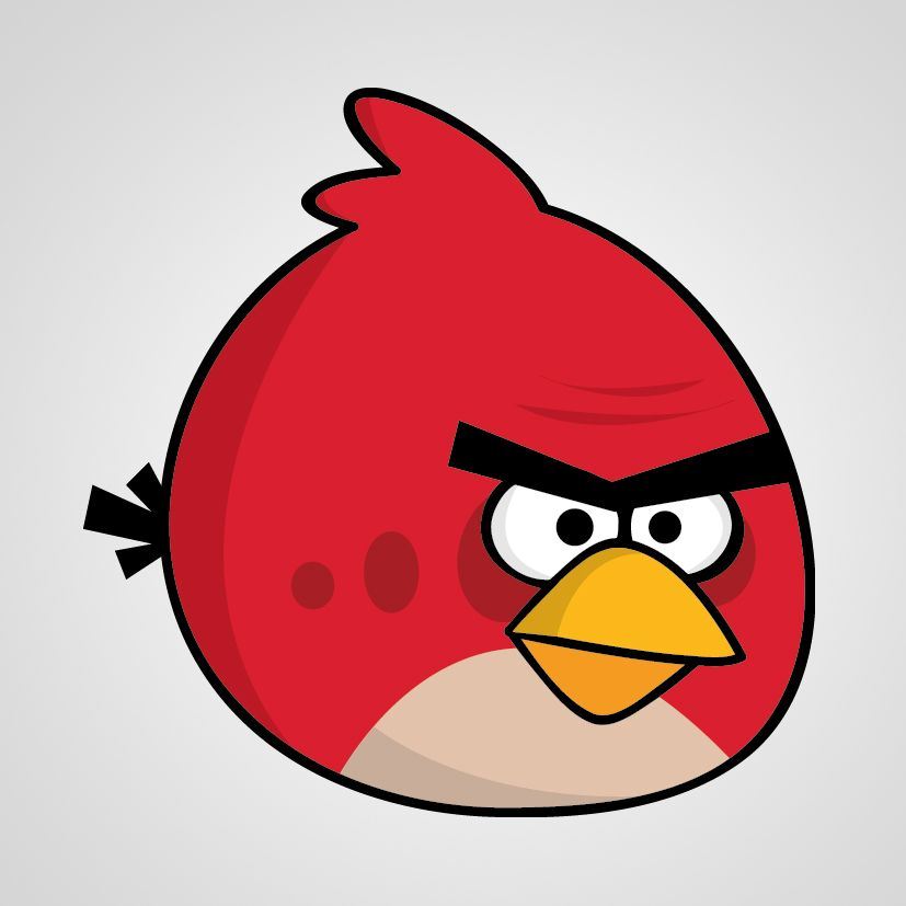 Character Design Using Adobe Illustrator : Create angry birds characters in illustrator will s ab